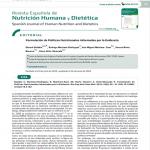 Formulación de Políticas Nutricionales informadas por la Evidencia